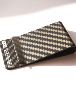 Matte Carbon Fiber Money Clip